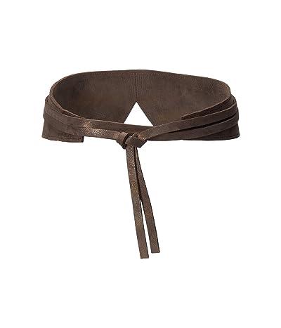 ADA Collection Olive Wrap Belt (Truffle) Women