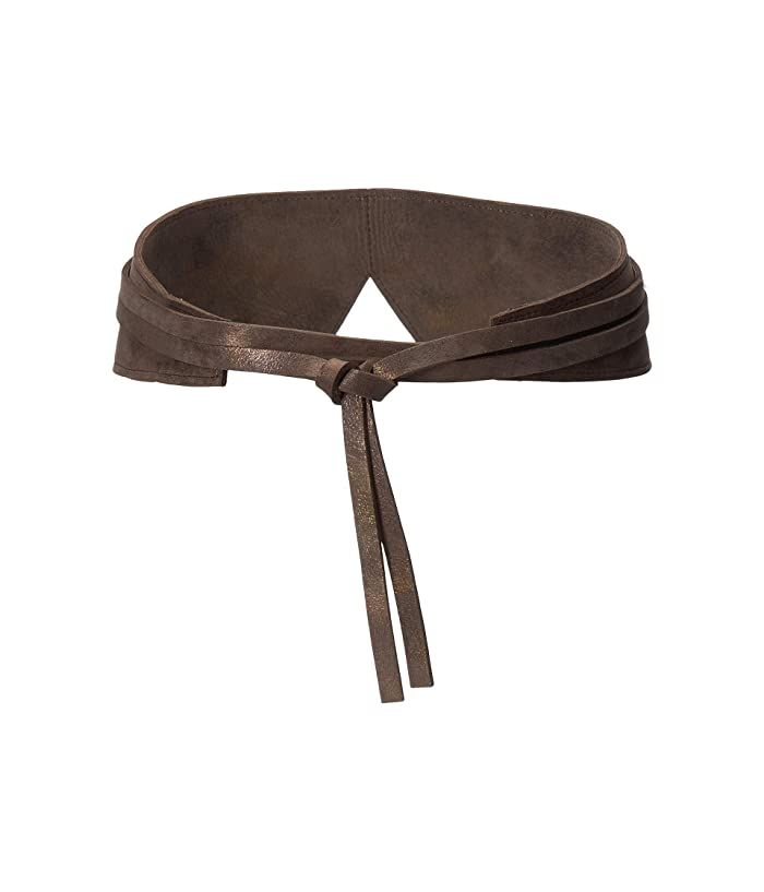ADA Collection Olive Wrap Belt (Truffle) Women