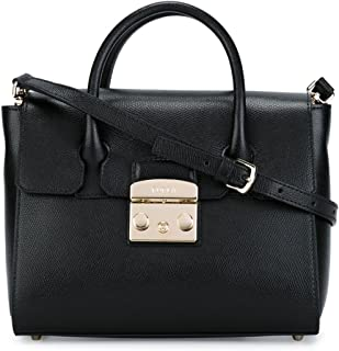 Furla Women's 820658O60 Black Leather Handbag