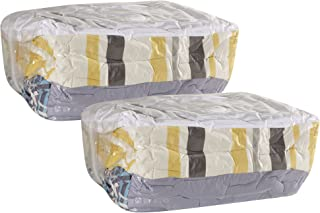 Household Essentials 4511 Set of 2 MightyStor Cube Vacuum Space Saving Storage Bags - Extra Large