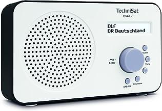 TechniSat VIOLA 2 tragbares DAB Radio (DAB+, UKW, Lautsprecher, Kopfhöreranschluss,..