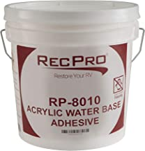 RV Rubber Roof Adhesive 8010 | 1 Gallon | Water-Based Universal RV Roof Glue | RV Adhesive (1 Gallon)