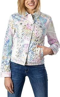 Desigual Luxury Fashion Womens 20SWEN10WHITE White Jacket | Fall Winter 19