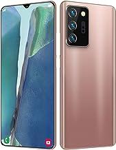 DYYAN 4G Android 10 Dual SIM Smartphone Unlocked, 18MP + 48MP Cameras, 8GB + 128GB, Face Unlock, Finger Reader - Black, Wh...