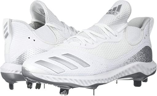 Footwear White/Silver Metallic/Footwear White