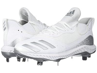 adidas Icon V Bounce (Footwear White/Silver Metallic/Footwear White) Men