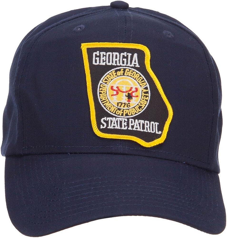 Georgia State Patrol Patched Cap