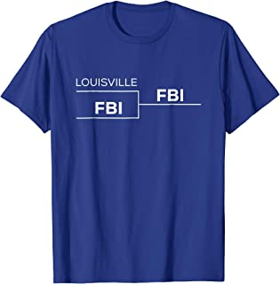The Silo Red Rick Pitino Louisville FBI Hooded Sweatshirt