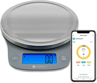 Etekcity 0.1g Digital Kitchen Gram Food Scale, Measures in Pounds and Ounces for Cooking, Baking, Postal and Weight Loss, ...