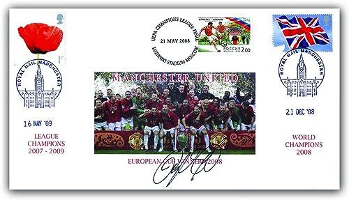 Buckingham Bezüge 2009 nchester United Triple Buckingham GEDENKMüNZE Cover. Mit der Genuine Signature von Ryan Giggs