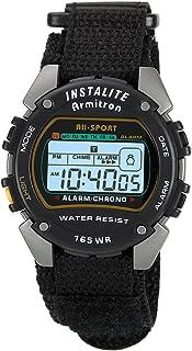 Armitron Sport Men's 40-6623BLK Chronograph Instalite Black Digital Watch