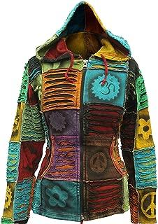 Women Pixie Hippie Emo Gothic Hoodie Hippy Sweater Boho Cardigan