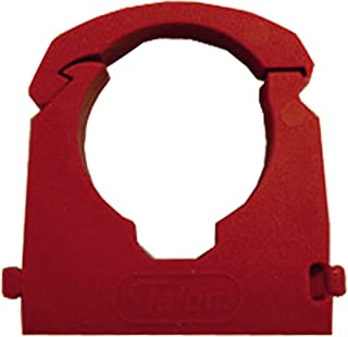 JG Speedfit PC15R Pipe Clip and Spacer, Red, 15 mm, Set of 50 Pieces