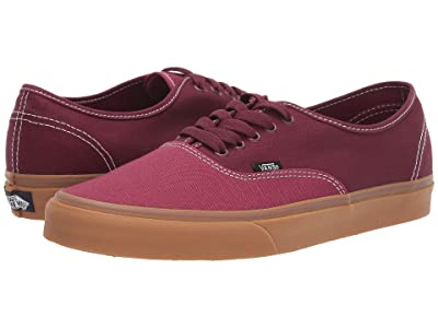 Vans Authentictm ((Gum) Beet Red/Port Royale) Skate Shoes