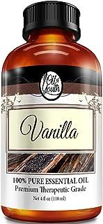 4oz Bulk Vanilla Essential Oil – Therapeutic Grade – Pure & Natural Vanilla Oil