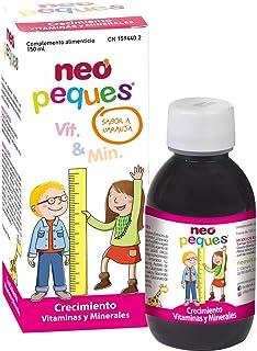 Neo Peques | Jarabe Infantil para Niños Crecimiento | 150 ml