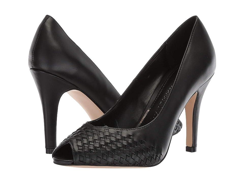 Athena Alexander Strasborg Heel (Black Smooth Leather) High Heels