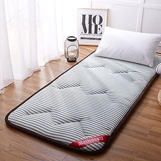 Tatami Bed Mattress Anti-Slip Folding mat 1.8m Single Double Floor Sleeping pad nap for Living Room Dormitory-C 90x200cm(35x79inch)