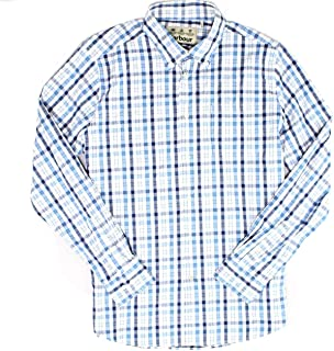 Mens Performance Button Down Tailored Fit Shirt
