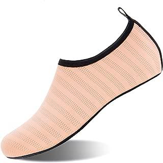 Mens Womens Water Shoes Barefoot Beach Pool Shoes Quick-Dry Aqua Yoga Socks for Surf Swim..