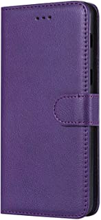 Case for Huawei Honor 10 Cover with Credit Card Slot Purple Bear Village/® Case Compatible with Huawei Honor 10 Magnetic Closure and Kickstand Function