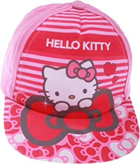 471bdc474 Hello kitty Baby Girls Hat Polka Dots White and Pink 9 to 36months