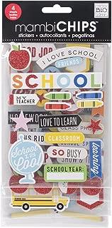 Me & My Big Ideas Chipboard Value Pack-I Love School