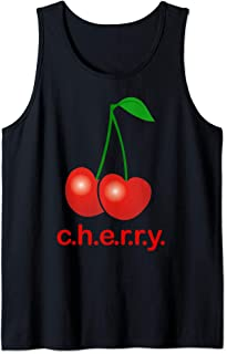 Cherry Gift - Sweet Cherries for Fruit Lovers & Vegetarians Tank Top