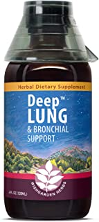 WishGarden Herbs Deep Lung - Organic Lung Support Tincture with OSHA Root and Elecampane Root, Herbal Respiratory Relief L...
