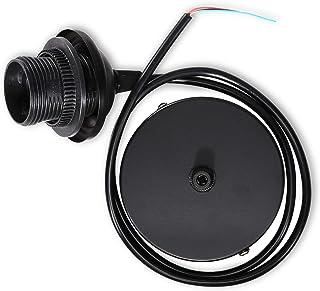 kwmobile Câble électrique pour lampe - Câble avec douille E27 et bague de fixation - Monture de suspension pour luminaire ...