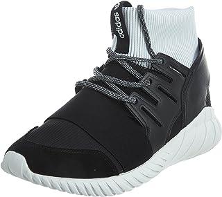 adidas Men's Tubular Doom Core Black/Footwear White High-Top Fashion Sneaker - 10.5M
