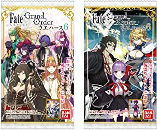 Fate/Grand Order Wafer 6 20Pack Box (Candy Toy)