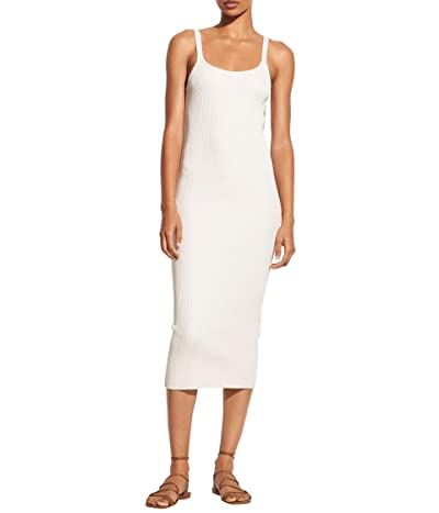 Vince Rib Cami Dress (Chiffon) Women