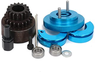 RCAWD Two Speed Clutch Set Bell Shoes Springs Flywheel Bearings Axle 16T-21T 16-21 Tooth Teeth for 1/10 RC Hobby Model Nitro Car HPI HSP Traxxas Axial 1set