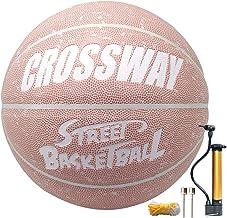 MAIBOLE Basketball, personalisierbar, 74,9 cm, Indoor-Basketball, Größe 7, Street Composite Leder Basketbälle für Männer, ...