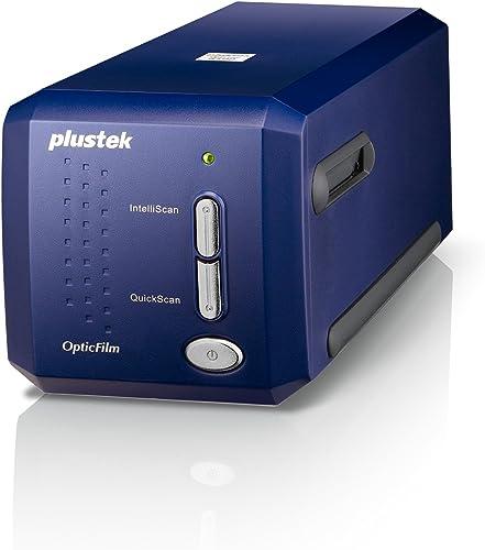 Plustek Scanner de Diapositives, Scanner de négatifs OpticFilm 8100