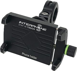 Suporte Celular Para Moto Universal Alumínio Interphone Original