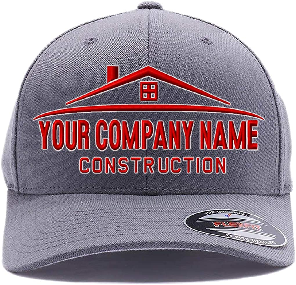 Custom Hat. Your Company Name Embroidered. Popular brand Construction Low price