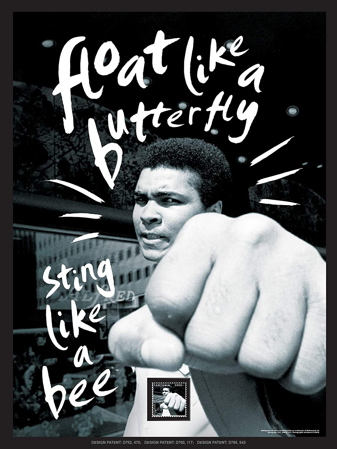 Imperial Mint Muhammad Ali Float Like A Butterfly 251210SH01 Framed Wall Art, One Size, Multicolor