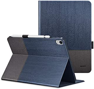 Apple iPad Pro 11 2018 ESR (Simplicity) Pencil holder, Multi-Angle Viewing Stand, Smart Cover with Auto Sleep/Wake Function Cover Case - Knight Blue