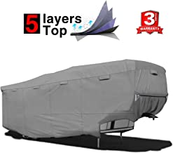 RVMasking Heavy Duty 5 Layers Top 5th Wheel Cover, Fits 40'1
