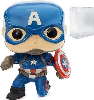 Marvel: Captain America 3 Civil War - Captain America Funko Pop! (GameStop Exclusive) Vinyl Figure (Includes Compatible Po...