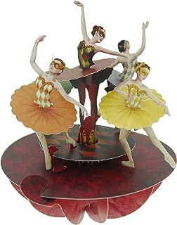 Santoro Pirouettes Ballet Pirouette 3D Pop Up Card