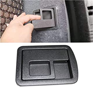 XYXYMY Rear Trunk Cargo Boot Carpet Handle Cover Fit for A UDI A3 S3 A4 B6 B7 B8 S4 A5 S5 A6 C6 C7 S6 A8 for Car Accessories