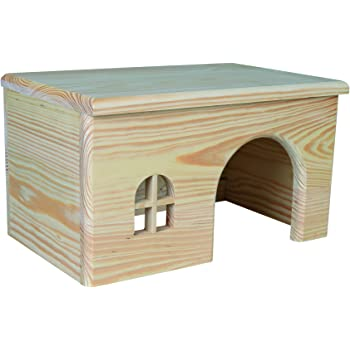 Trixie Wooden House for Guinea Pigs, 28 x 16 x 18 cm