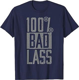 WWE Becky Lynch 100% Bad Lass Dark Tシャツ