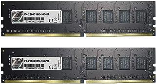 G.Skill F4-2666C19D-16GNT (DDR4 PC4-21300 8GB×2)