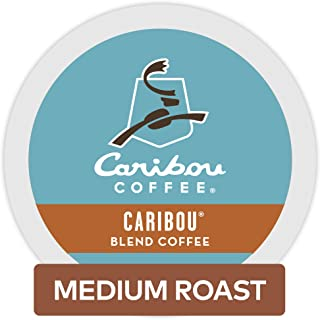 Caribou Coffee Caribou Blend, Single-Serve Keurig K-Cup Pods, Medium Roast Coffee, 96 Count