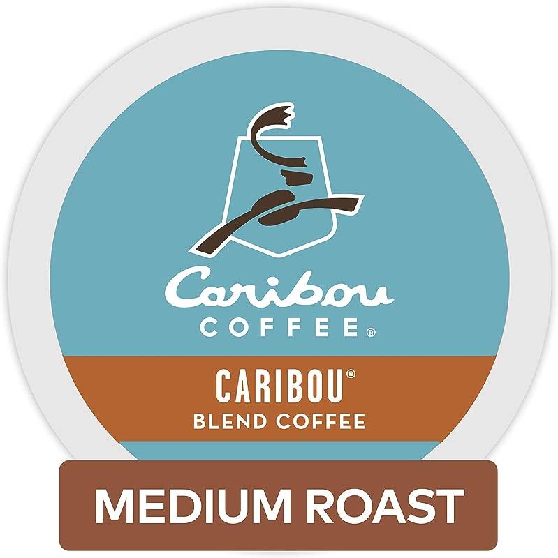 Caribou Coffee Single Serve Coffee K Cup Pod Medium Roast Coffee Caribou Blend 96 Count