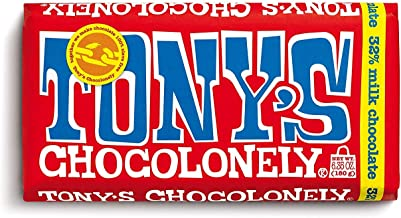 TONY´S CHOCOLONELY (CHOCOLATE CON LECHE) 180 GRAMOS